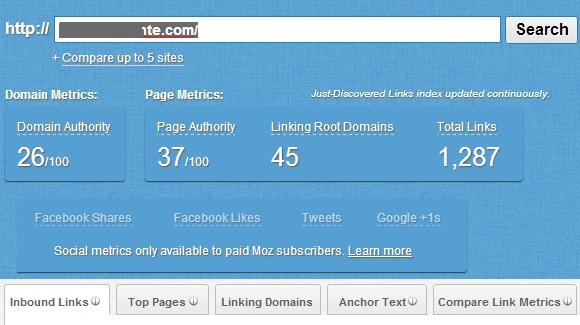 analizar autoridad web o blog