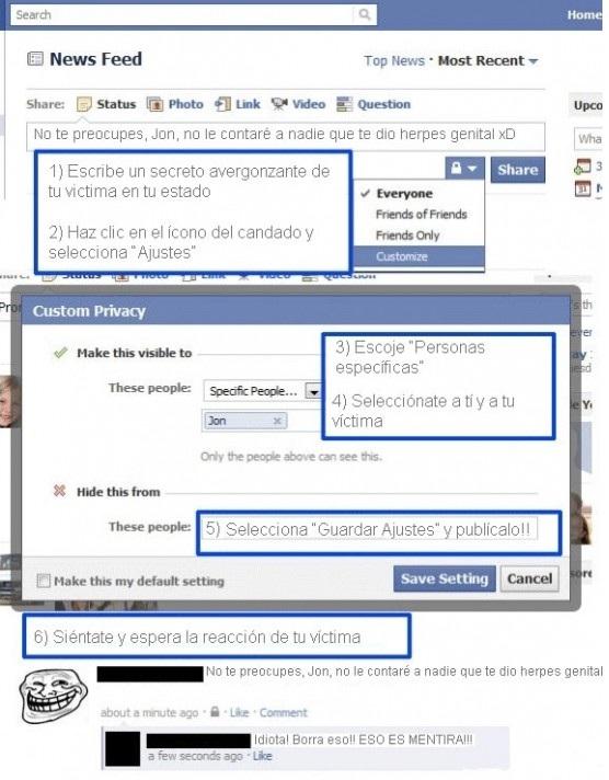 12 Formas Divertidas De Trollear En Facebook