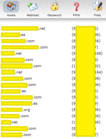 dominios en distintas ips
