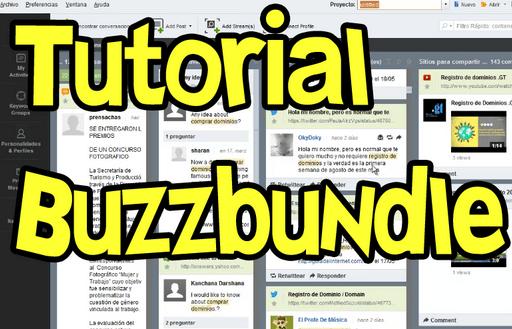 tutorial español buzzbundle