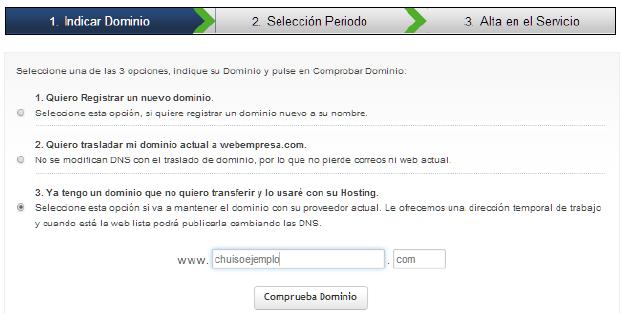 elegir dominio blog