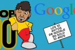 10 exitos de google