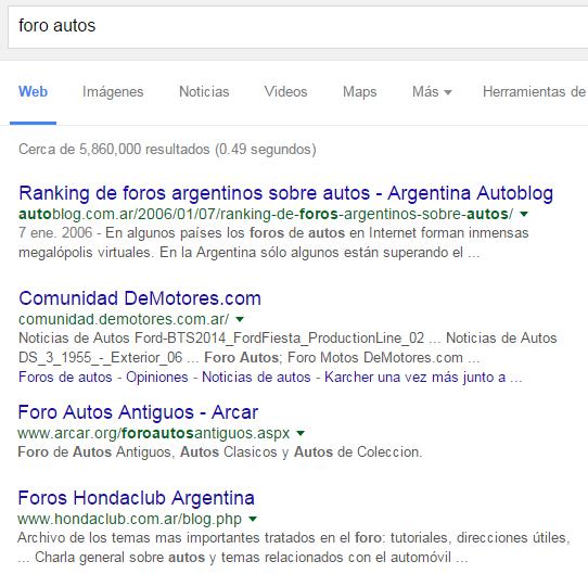 foros argentinos